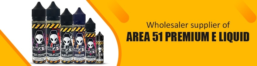 Area 51 Premium E Liquid - 0mg - 50ml