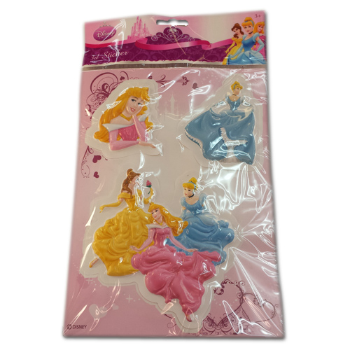 Disney Princesses 3d Essentials Stickers