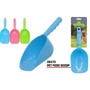 Pets That Play Pet Food Scoop - 28 x 10.5cm - Colours May Vary