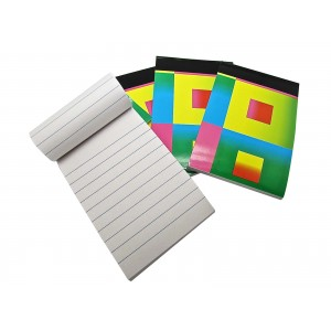 Compact Colourful Memo Pads - Pack Of 4