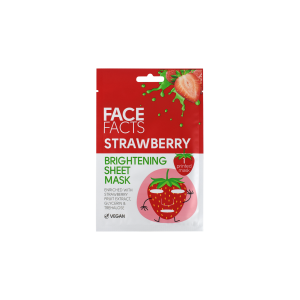 Face Facts Printed Sheet Mask - Strawberry & Pineapple - 20ml