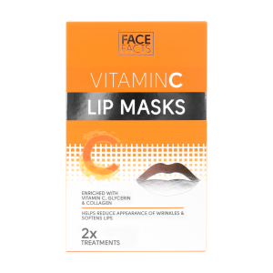 Face Facts Vitamin C Lip Masks - Pack of 2