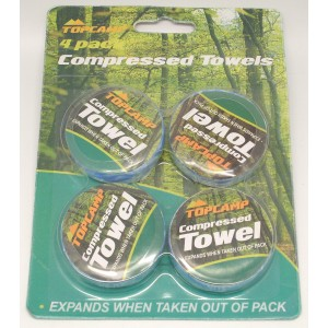 Compressed Towels - Pack Of 4