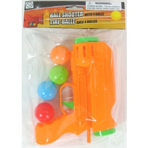 Toy Ball Shooter Gun With 2 Balls