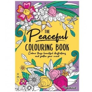 The Peaceful Colouring Book - 0% VAT
