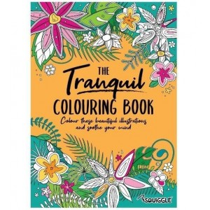 The Tranquil Colouring Book - 0% VAT