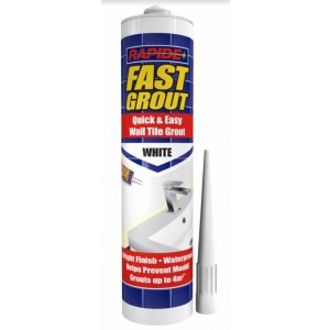 Rapide Quick & Easy - Fast Grout - White - 280ml - Exp: 01/23