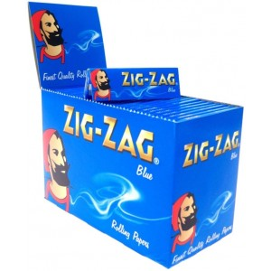 Zig Zag Blue Standard Rolling Papers - 100 Booklets