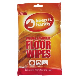 Prism Fresh Fragranced Wood And Laminate Floor Cleaning Wipes - Pack Of 20