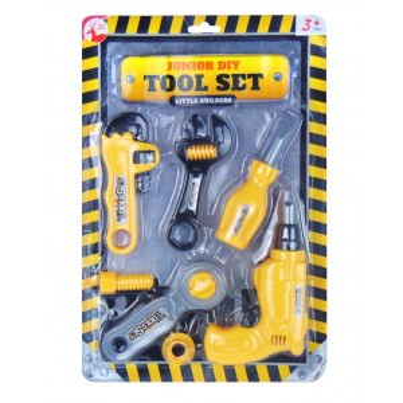 Junior DIY Little Builders Tool Set by Red Deer Toys
