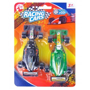 Pull Back & Go Racing Cars by Red Deer Toys - Assorted Colours