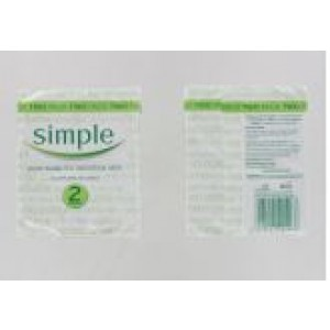 Simple Pure Soap For Sensitive Skin - 125 Grams - Pack Of 2