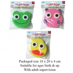 Beautiful Beginnings - Fun Bath Sponge - Assorted Designs