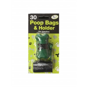 Set of 30 Poop bags with dispenser