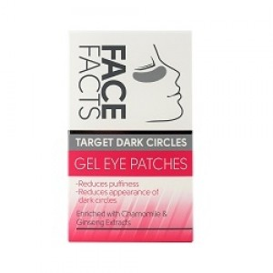 Face Facts Gel Eye Patches - Target Dark Circels - Pack of 4