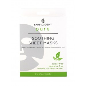 Skin Academy Pure Soothing Sheet Masks - Pack of 2