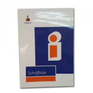 Rabobank A5 Lined Notepad
