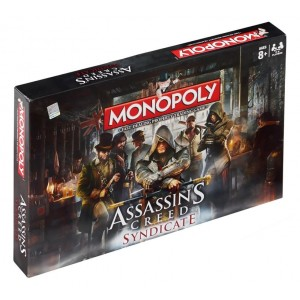 Hasbro Gaming Assassin's Creed Syndicate Monopoly Board Game - 2-6 Players - 40 x 27 x 5cm - For Kids Age 8+