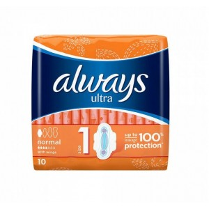 Always Ultra Normal with Wings - Pack of 10