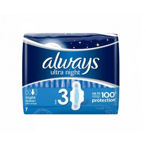 Always Ultra Night with Wings - Pack of 7