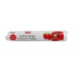 Extra Value Extra Large Freezer Bags - 28 x 28cm - Pack Of 100