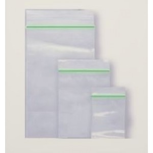 Plain Baggies Resealable Clear Zipper Grip Seal Bags - 25MM X 25MM - Box Of 1000