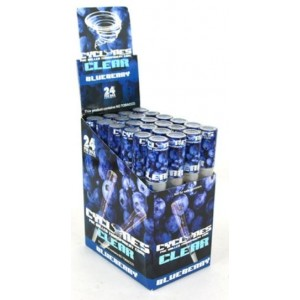 Cyclone Pre Rolled Clear Cone - Blueberry - Pack Of 24