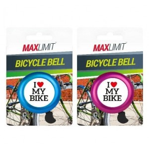 Max Limit Bicycle Bell - Assorted Colours
