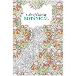 Art of Colouring Botanical/Flowers Adult Colouring Book 24 Pages Relax - Price marked $5 - 27.5 x 22cm