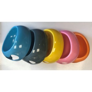 Pet Feeding Bowl - Colours May Vary - Not Checked