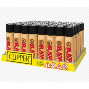 Clipper Classic Large Reusable Pure Isobutane Eco-Lighters - Raw