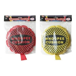 A to Z Abracadabra Self Inflating Whoopee Cushion - 23cm - Assorted Colours