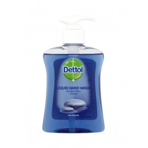 Dettol Anti-Bacterial Liquid Hand Wash - Dermatologically Tested - Sea Minerals - 250ml - Exp: 12/20
