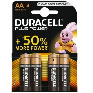 Duracell Plus Power Aa 4 Plus - Pack Of 4