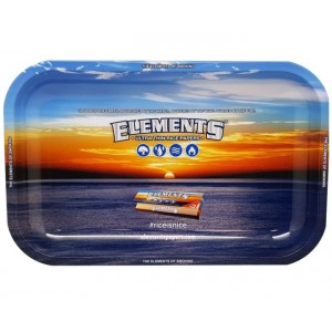 Small Elements Rolling Tray - Blue - 17.5Cm X 27.5Cm