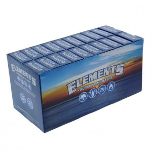 Elements Super Slim Filters - Pack of 20