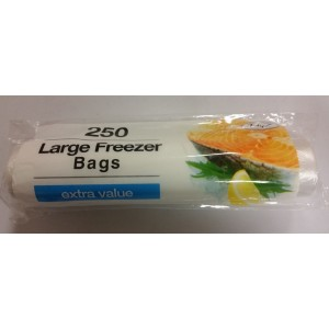 LARGE FREEZER BAGS - PACK OF 250