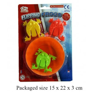 Flipping Jumping Frog Game