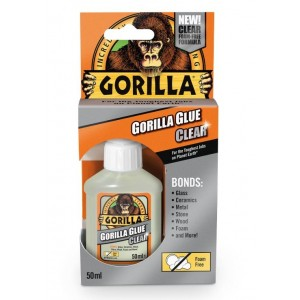 Gorilla All Purpose Clear Glue - 50ml