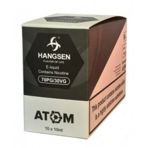 Hangsen  E Liquid - Vanilla Custard - 12Mg - 10Ml
