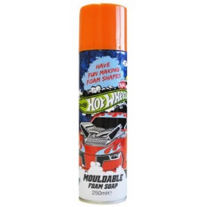 Hot Wheels Mouldable Foam Soap - 250Ml