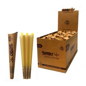 Jumbo Original Dutch Cones - King Size - Unbleached - Pack of 3