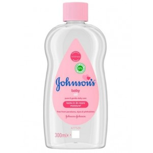 Johnsons Pure & Gentle Daily Care Baby Oil - 300ml