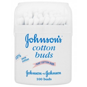 JOHNSONS 100% PURE COTTON BUDS - PACK OF 100