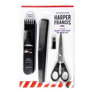 Harper Francis 4 Piece Beard & Hair Trimmer Kit