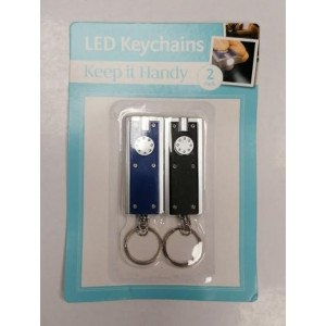 Keep It Handy LED Keychains - Assorted Colours - Pack of 2