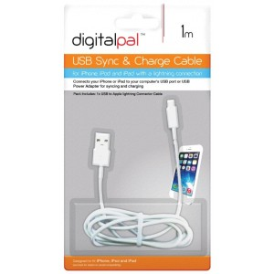 Packaged Quality Lightening Iphone 5/6/5S/5C/6/7/8/10/11/12/X USB Data Charge Cable Lead 8 Pin - 1 Metre