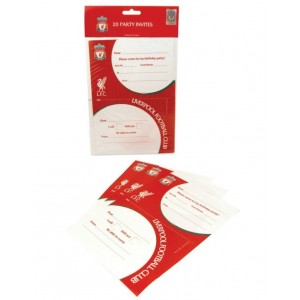Liverpool FC Party Invites - Pack of 20
