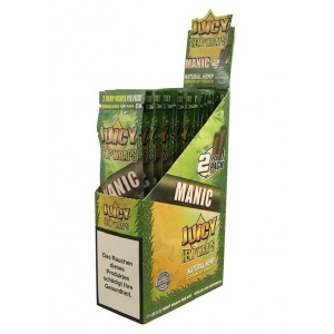 Juicy Hemp Wraps - Manic - Pack Of 50 (25 X 2)