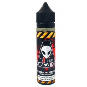 Area 51 E Juice - Mars Attacks - 0mg - 50ml